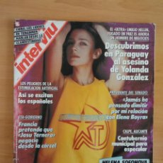 Coleccionismo de Revista Interviú: INTERVIU NUM. 685. JUNIO DE 1989. PORTADA HELENA SOFONOVA. Lote 58622979