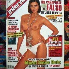 Coleccionismo de Revista Interviú: REVISTA INTERVIU / MISS ESPAÑA MARIA JESUS RUIZ DESNUDA, LEONARDO SBARAGLIA, SEXO EN LA RADIO Y ++. Lote 59866168