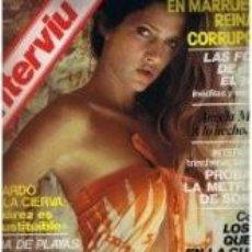 Coleccionismo de Revista Interviú: ANGELA MOLINA / PORTADA Y REPORTAJE / REVISTA INTERVIU 162 / 1979/7. Lote 114356095