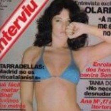 Coleccionismo de Revista Interviú: ISABEL LUQUE / PORTADA Y REPORTAJE / REVISTA INTERVIU 165 / 1979/7. Lote 60196859