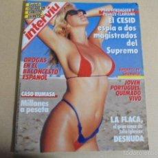 Coleccionismo de Revista Interviú: INTERVIU 547 - LA FLACA DESNUDA VIRGINIA SIPL - LA JET ESPAÑOLA - RUMASA - NIÑOS LOBO MEXICO. Lote 60464171