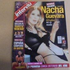 Coleccionismo de Revista Interviú: INTERVIU 1364 - 2002 - NACHA GUEVARA DESNUDA 60 AÑOS - PABLO SEBASTIAN - MONCHO BORRAJO. Lote 60464407