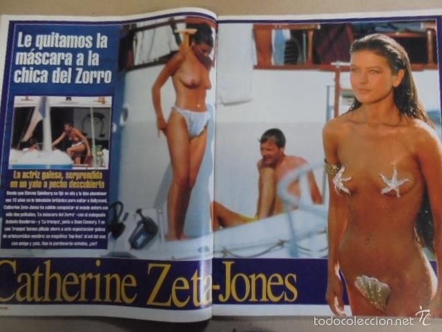 Interviu 1206 1999 Zeta Jones Desnuda Anita Caprioli Alaska Lolita Flores Lobo