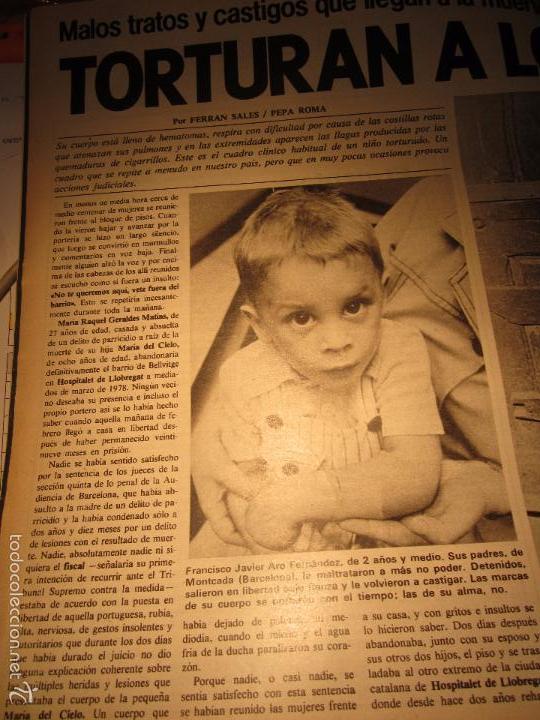Coleccionismo de Revista Interviú: interviu 232 octubre 1980 , mabel escaño desnuda , el sexo de los viejos , CALAS COVAS , MENORCA - Foto 2 - 29806617