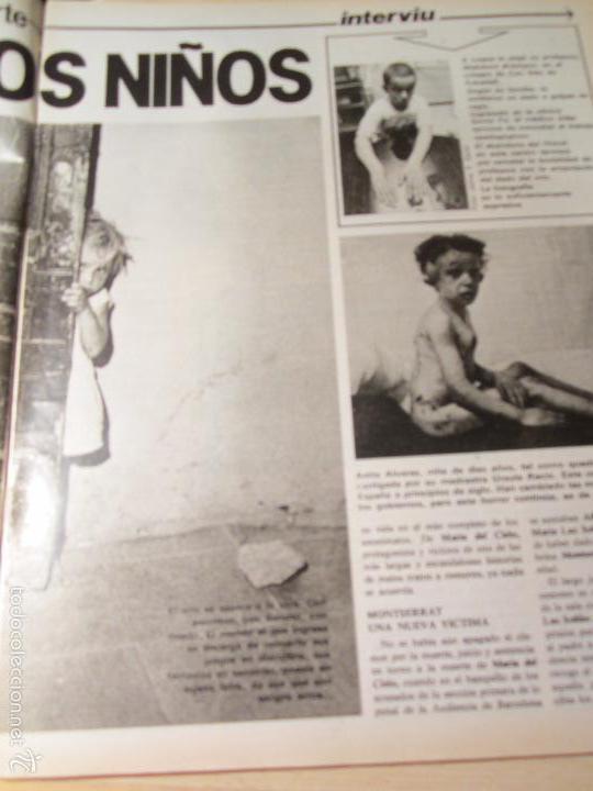 Coleccionismo de Revista Interviú: interviu 232 octubre 1980 , mabel escaño desnuda , el sexo de los viejos , CALAS COVAS , MENORCA - Foto 3 - 29806617