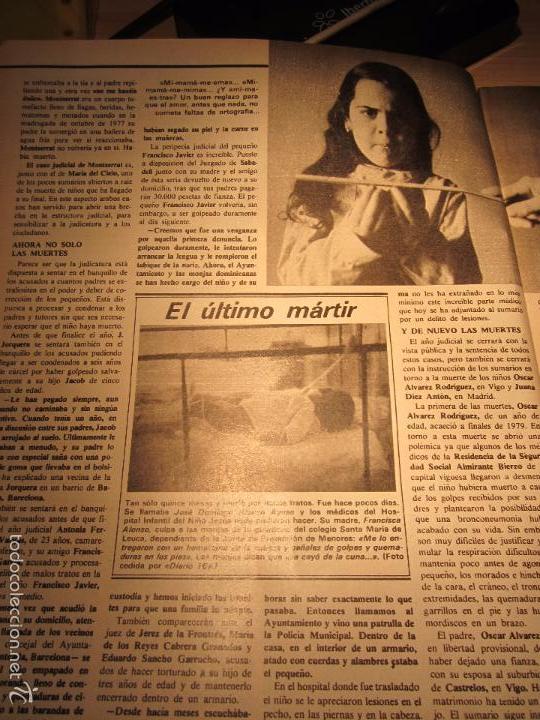 Coleccionismo de Revista Interviú: interviu 232 octubre 1980 , mabel escaño desnuda , el sexo de los viejos , CALAS COVAS , MENORCA - Foto 4 - 29806617