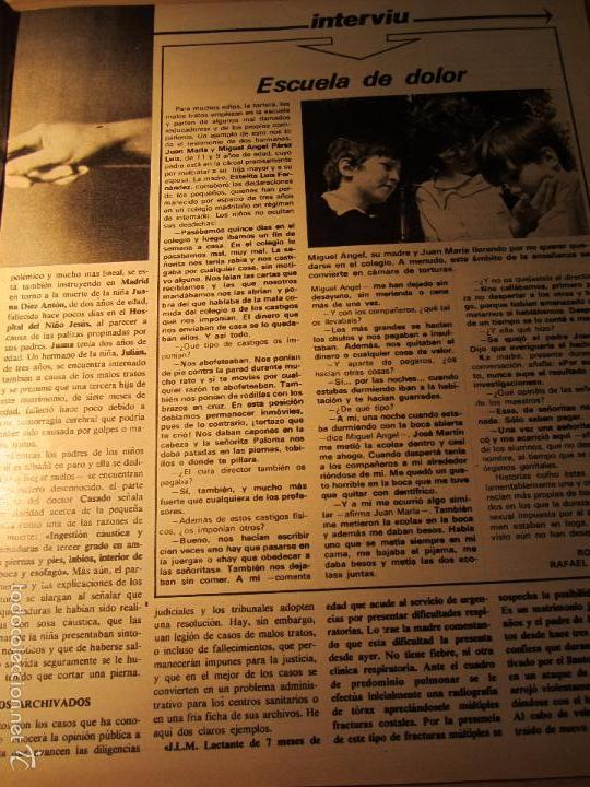 Coleccionismo de Revista Interviú: interviu 232 octubre 1980 , mabel escaño desnuda , el sexo de los viejos , CALAS COVAS , MENORCA - Foto 5 - 29806617