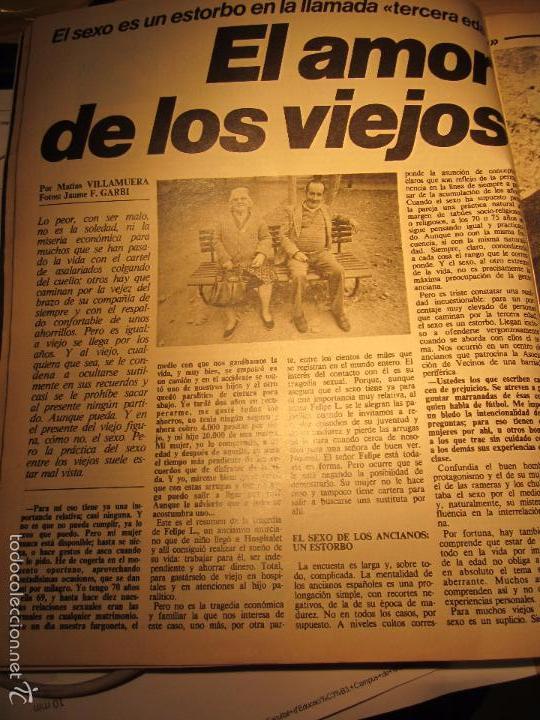 Coleccionismo de Revista Interviú: interviu 232 octubre 1980 , mabel escaño desnuda , el sexo de los viejos , CALAS COVAS , MENORCA - Foto 6 - 29806617