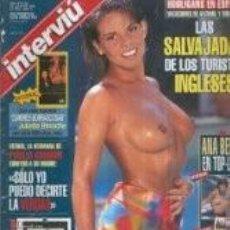 Coleccionismo de Revista Interviú - emma morgan / PORTADA Y REPORTAJE / REVISTA INTERVIU 1056 / 1996/ 10 - 61506511