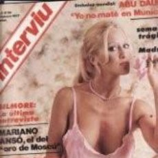 Coleccionismo de Revista Interviú: DOMINIQUE SANDA / PORTADA Y REPORTAJE/ REVISTA INTERVIU 38 / 1977 / 8. Lote 61641564