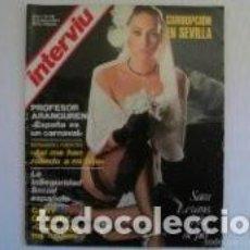 Coleccionismo de Revista Interviú: SARA LEZANA / PORTADA Y REPORTAJE / REVISTA INTERVIU 29 / 1976 / 8. Lote 61702572