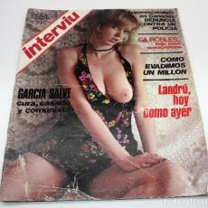 Coleccionismo de Revista Interviú: REVISTA INTERVIU AÑO 1 - Nº 20 - 1976 - LANDRÚ, GIL ROBLES - PRIMEROS NÚMEROS. Lote 61770576