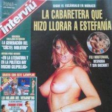 Coleccionismo de Revista Interviú: REVISTA INTERVIÚ NÚMERO 1063. Lote 62066764