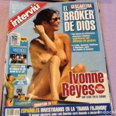 Coleccionismo de Revista Interviú: INTERVIU 1321 AÑO 2001 IVONNE REYES. Lote 62499036