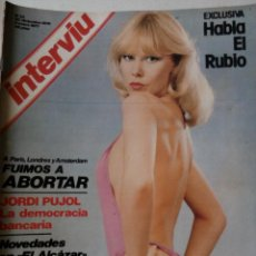 Coleccionismo de Revista Interviú: REVISTA INTERVIU Nº33 1977 EL PODER DE LOS ORIOL-SOFICO-SYLVA KOSCINA-MARIANO CONSTANTE. Lote 62503356