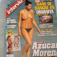 Coleccionismo de Revista Interviú: INTERVIU 1547 AÑO 2005 SIN NÚMERO DOBLE. Lote 62504376