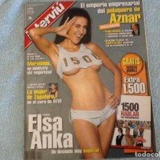 Coleccionismo de Revista Interviú: INTERVIU 1500 AÑO 2005 SIN REVISTA DOBLE ELSA ANKA. Lote 62507336