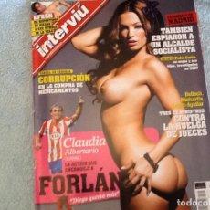 Coleccionismo de Revista Interviú: INTERVIU 1710 AÑO 2009. Lote 62518420
