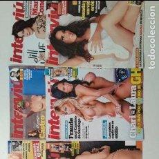 Coleccionismo de Revista Interviú: LOTE DE REVISTAS INTERVIU. Lote 84693590