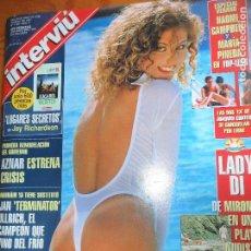 Coleccionismo de Revista Interviú: INTERVIU Nº 1109 DE 1997- HANNA CISNEROS, LADY DI NAOMI CAMPBELL JULIO APARICIO JAN ULRICH MCDONALDS. Lote 65264027