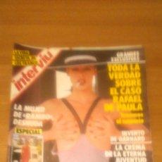 Coleccionismo de Revista Interviú: LOTE DE 5 REVISTAS INTERVIU AÑO 1986 - Nº EN EL INTERIOR . Lote 65461074