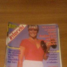 Coleccionismo de Revista Interviú: LOTE DE 7 REVISTAS INTERVIU AÑO 1987-Nº EN EL INTERIOR . Lote 65463934