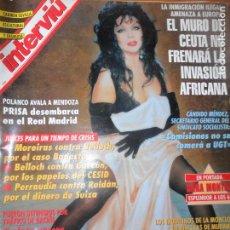 Coleccionismo de Revista Interviú: INTERVIU Nº 1018 DE 1995- SARA MONTIEL, JOSE DONOSO, SACROMONTE DE GRANADA, CEUTA, VER+. Lote 65774666