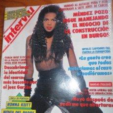 Coleccionismo de Revista Interviú: INTERVIU Nº 865 DE 1992- RONNA KEITT, JULIO IGLESIAS, KRUSCHEV, ENMANUELLE, MARIA JIMENEZ, VER+. Lote 65818346