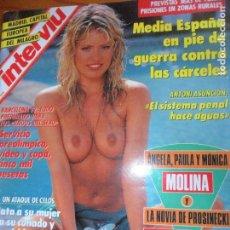 Coleccionismo de Revista Interviú: INTERVIU Nº 847 DE 1992- JANE BOTHAM, BARCELONA 92, MONICA MOLINA, PIERRE CARDIN, ALGECIRAS, BORRELL. Lote 65819510