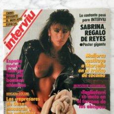 REVISTA INTERVIU - Nº 608 - 1988 - SABRINA SALERNO