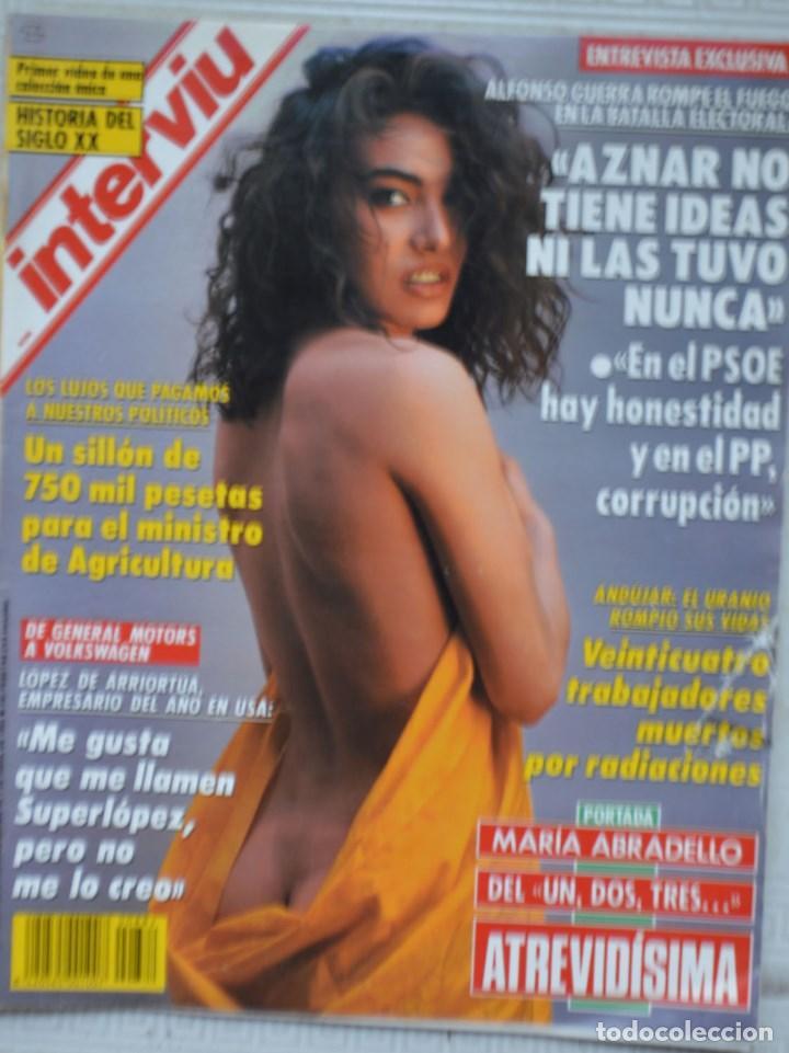 REVISTA INTERVIU, Nº 882. 25 MARZO 1993. ALFONSO GUERRA. MARÍA ABRADELO (Coleccionismo - Revistas y Periódicos Modernos (a partir de 1.940) - Revista Interviú)