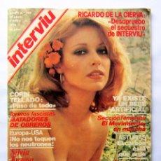 Coleccionismo de Revista Interviú: INTERVIÚ Nº 102 (1978) SILVIA TORTOSA, CORÍN TELLADO, TOREROS FASCISTAS,.... Lote 72120571