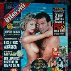 Coleccionismo de Revista Interviú: REVISTA INTERVIU / EVA HERZIGOVA, SAMANTHA FOX, ELLE MCPHERSON, ISABELA ORSINI, CHE GUEVARA, ROSENDO. Lote 73558087