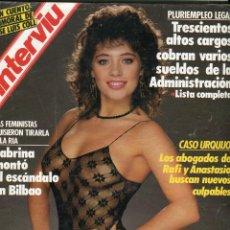 Coleccionismo de Revista Interviú: INTERVIU Nº 609 1988 - SABRINA ESCANDALO EN BILBAO (8 PAGINAS 7 FOTOS) - EL PALMAR DE TROYA- CASON-. Lote 78362821