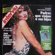 Coleccionismo de Revista Interviú: REVISTA INTERVIU - Nº 589 - AÑO 1987.. Lote 75504931