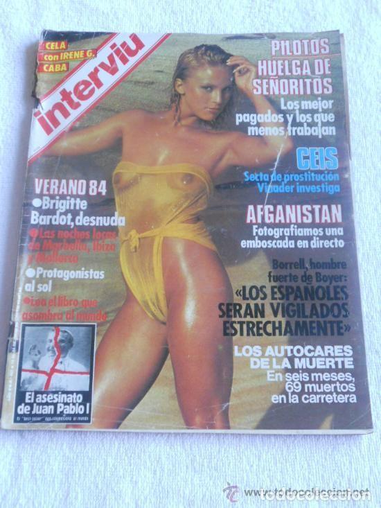 Revista Interviu Nº 427 Añ0 1984 Verano 84 Bri Sold Through