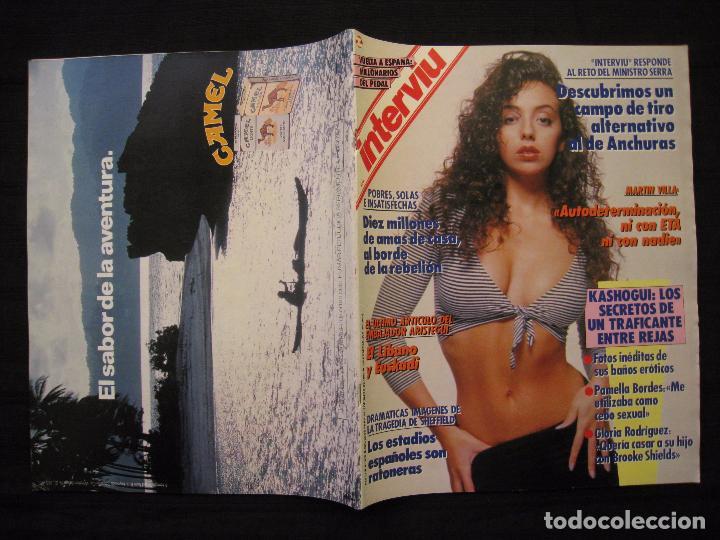 Coleccionismo de Revista Interviú: REVISTA INTERVIU - Nº 676 - AÑO 1989. - Foto 3 - 76582451