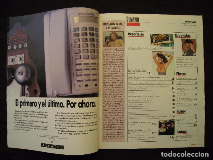 Coleccionismo de Revista Interviú: REVISTA INTERVIU - Nº 676 - AÑO 1989. - Foto 4 - 76582451