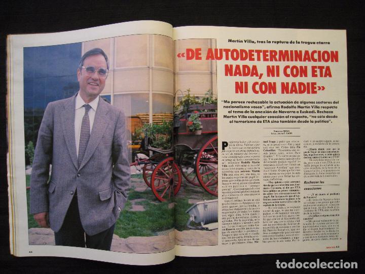 Coleccionismo de Revista Interviú: REVISTA INTERVIU - Nº 676 - AÑO 1989. - Foto 9 - 76582451