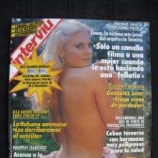 Coleccionismo de Revista Interviú: REVISTA INTERVIU - Nº 710 - AÑO 1989 - CON SUPLEMENTO LOS OJOS DEL CAZADOR DE HELMUT NEWTON.. Lote 76612075