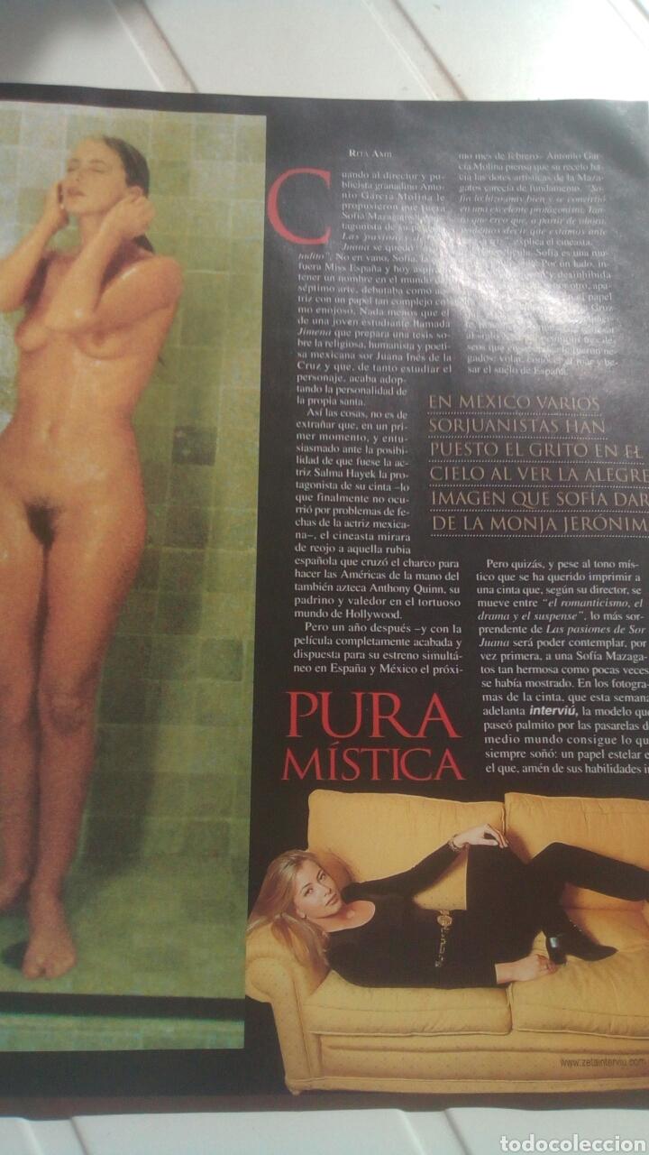 Coleccionismo de Revista Interviú: Revista Interviú Sofía mazagatos n1282 año 2000. - Foto 6 - 76852639