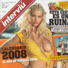 Collectionnisme de Magazine Interviú: REVISTA INTERVIU Nº 1651 AÑO 2007. NATALIA BUSH. REBELIÓN CONTRA ALCARAZ. NO INCLUYE SUPERPÓSTER. . Lote 77909625