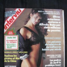 Coleccionismo de Revista Interviú: REVISTA INTERVIU - Nº 736 - JUNIO 1990.. Lote 183569032