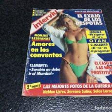 Coleccionismo de Revista Interviú: INTERVIU Nº 512 LAS MEJORES FOTOS DE LA GUERRA CIVIL ( 2). Lote 79126537