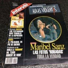 Coleccionismo de Revista Interviú: INTERVIU Nº 1182 MARIBEL SANZ , TRACEY GOLEMAN. Lote 268937674