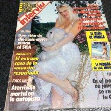 Coleccionismo de Revista Interviú: INTERVIU Nº 587 - ALFONSO DE HOHENLOHE ILONA STALLER , CASSIUS CLAY , MONICA MOLINA , MARILYN. Lote 79138485