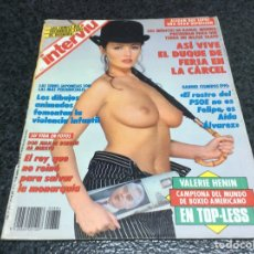 Coleccionismo de Revista Interviú: INTERVIU Nº 884 AÑO 1993, VALERIE HENIN CAMPEONA DEL MUNDO DE BOXEO AMERICANO, ROSA GRUBERG. Lote 79320453
