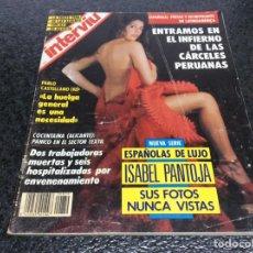 Coleccionismo de Revista Interviú: INTERVIU Nº 839 ,ISABEL PANTOJA, REGINA DO SANTOS, CARMEN DEL SOL. Lote 79656997