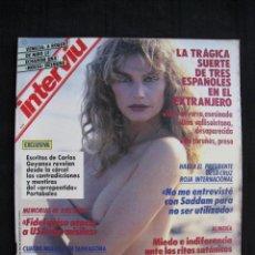 Collectionnisme de Magazine Interviú: REVISTA INTERVIU - Nº 752 - OCTUBRE 1990.. Lote 80175301