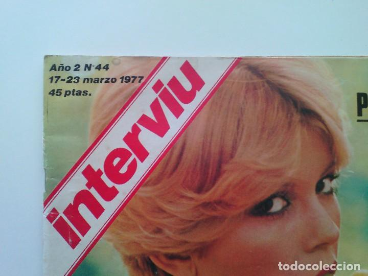 Coleccionismo de Revista Interviú: Revista Interviú Nº44. Año 1977. Bárbara Rey. - Foto 4 - 80732602